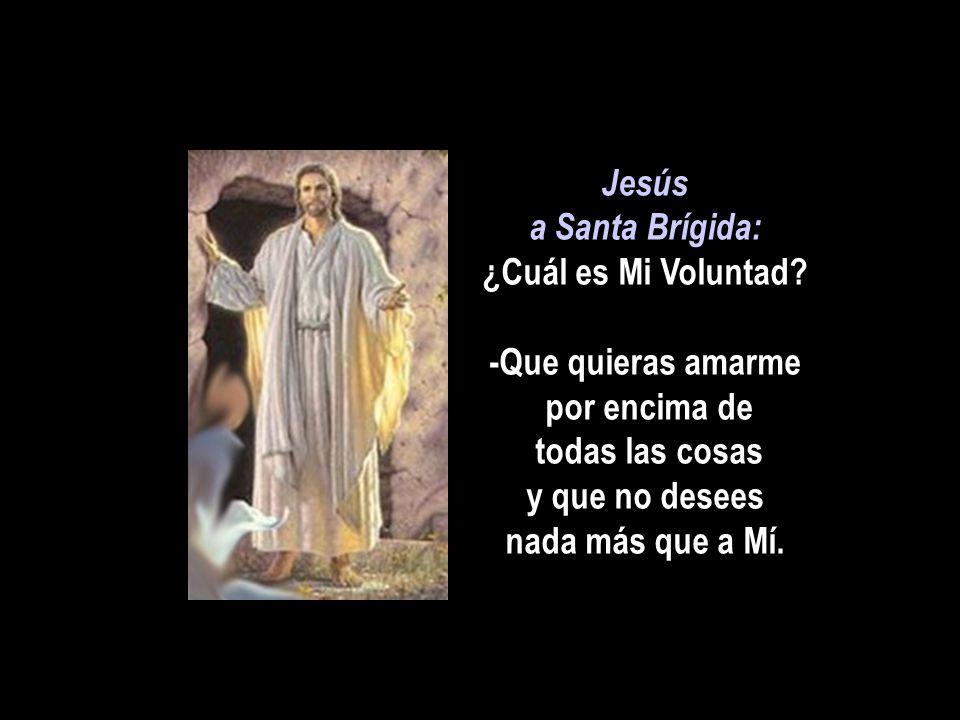 Jesús a Santa Brígida: ¿Cuál es Mi Voluntad