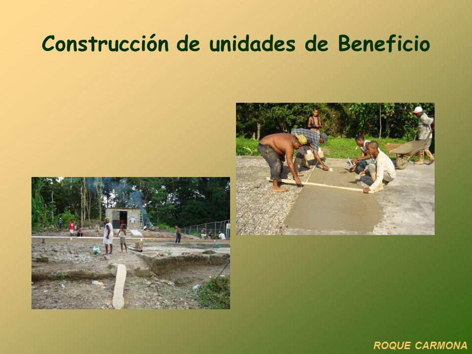 Construcción de unidades de Beneficio