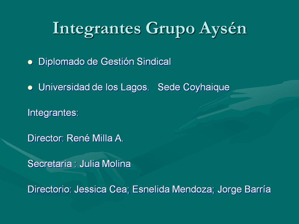 Integrantes Grupo Aysén