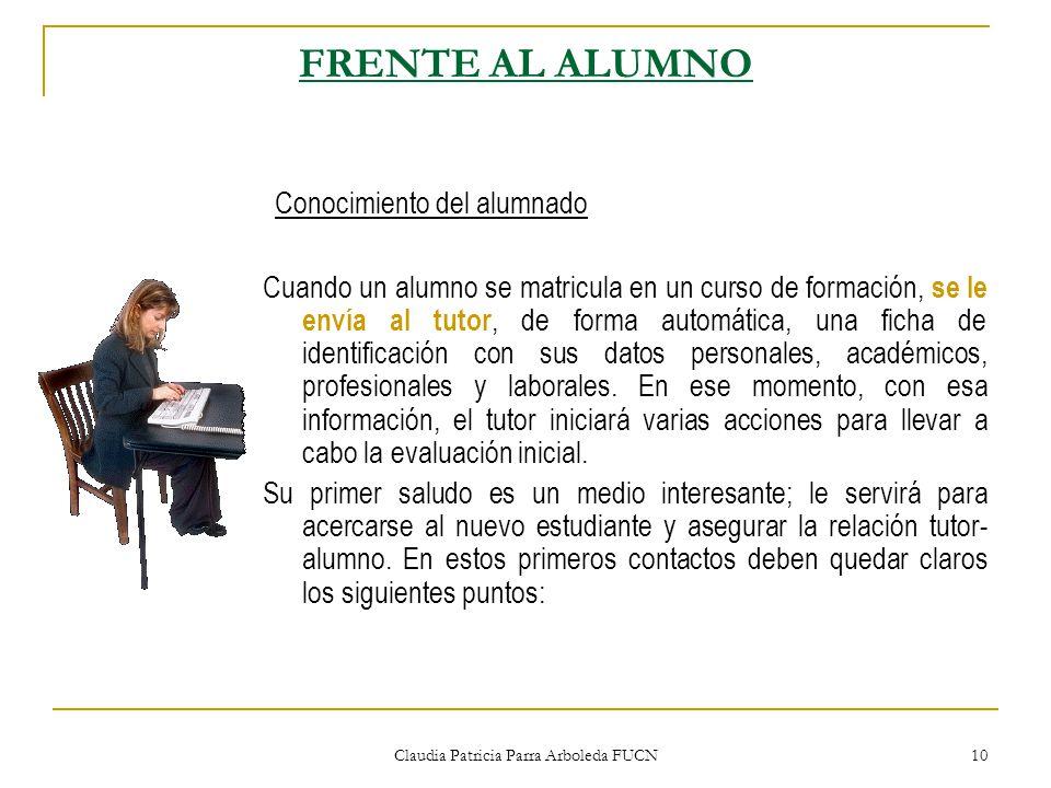 Claudia Patricia Parra Arboleda FUCN