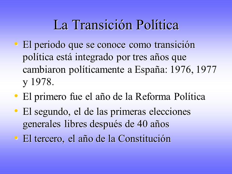 La Transición Política