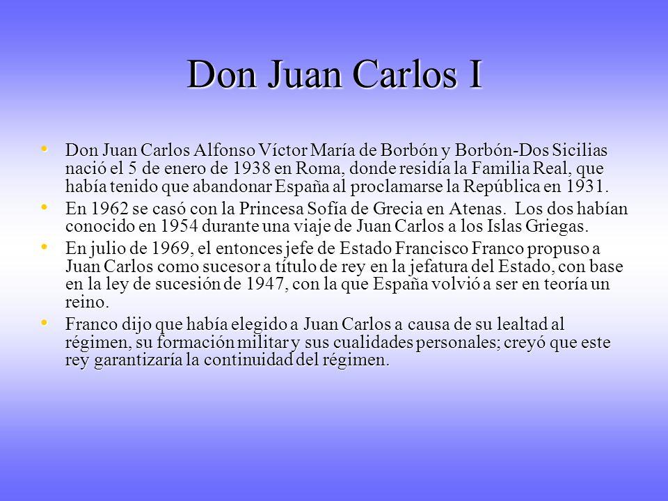 Don Juan Carlos I