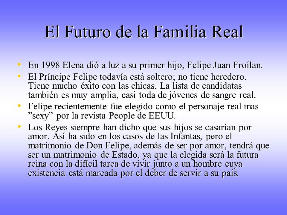El Futuro de la Familia Real