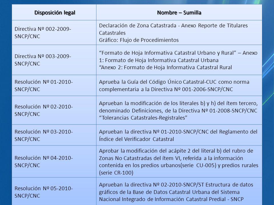 Directiva Nº 002-2009-SNCP/CNC