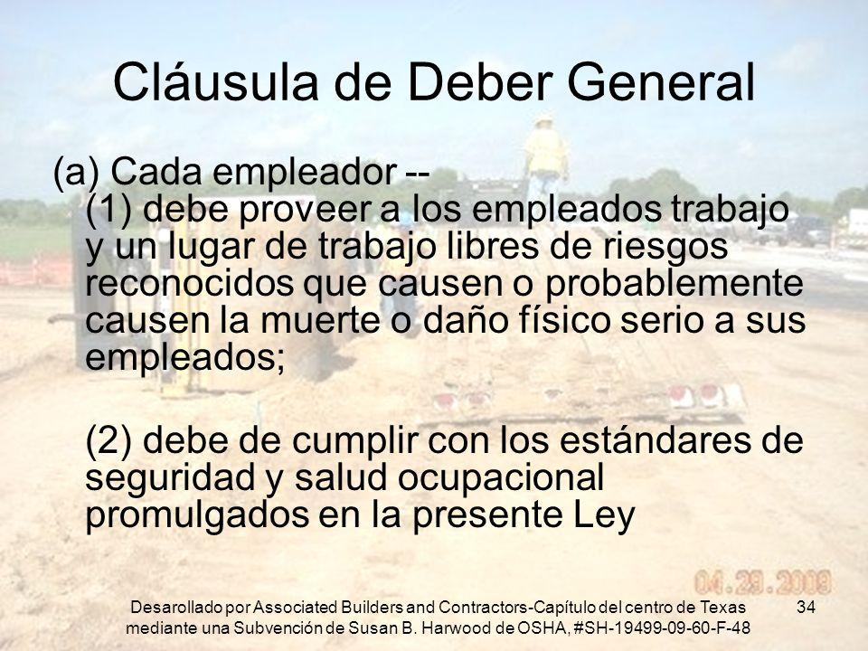 Cláusula de Deber General