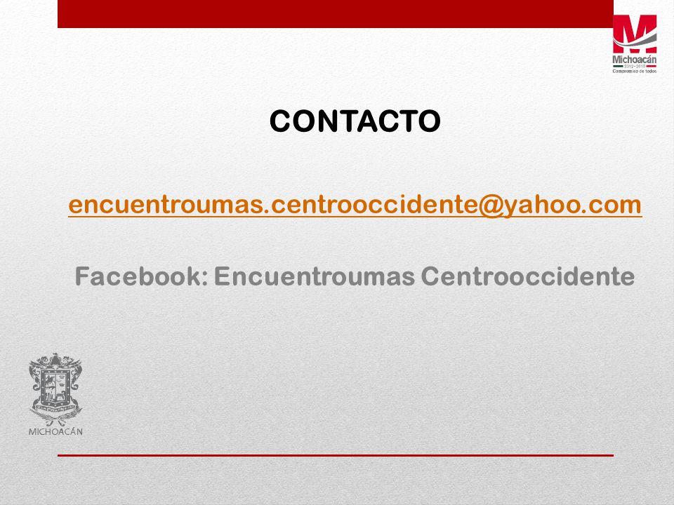 Facebook: Encuentroumas Centrooccidente