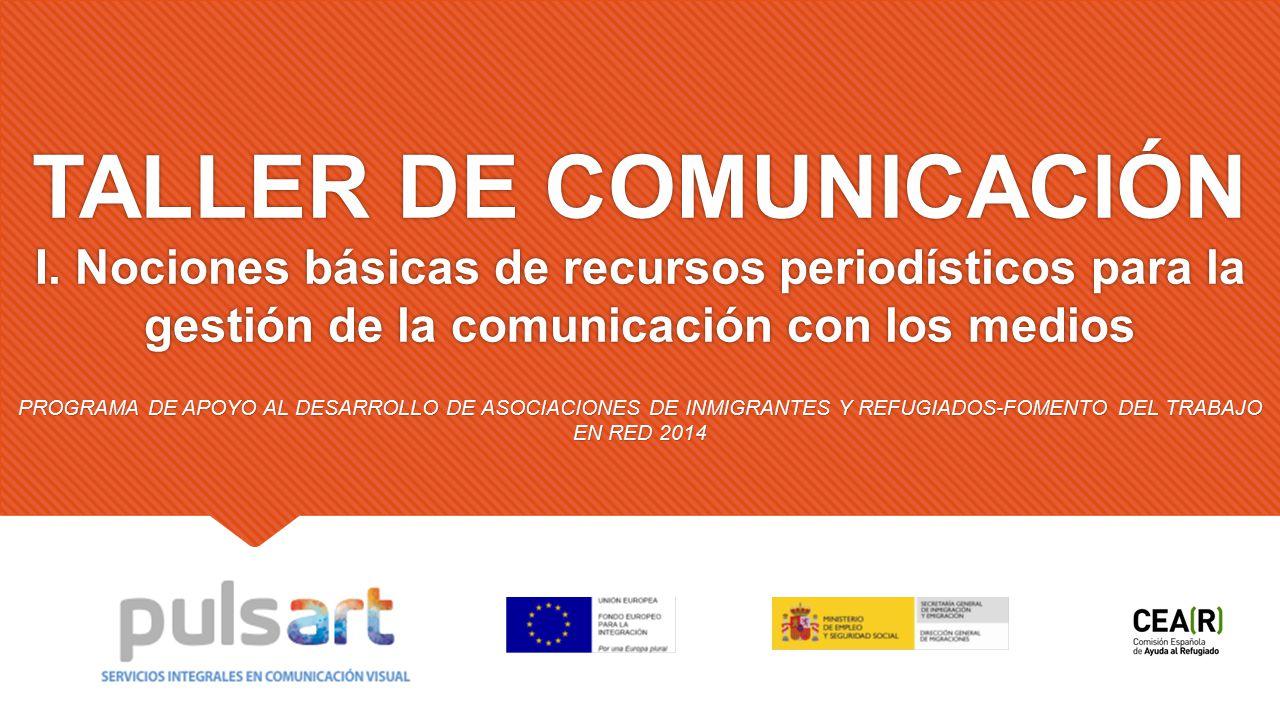 TALLER DE COMUNICACIÓN I