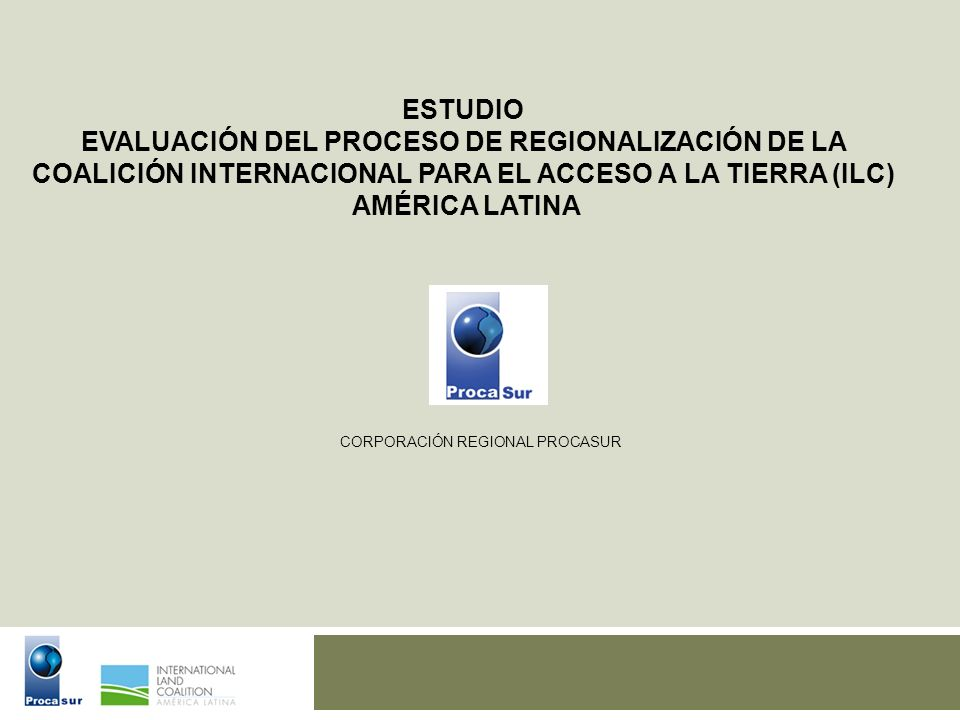 EVALUACIÓN DEL PROCESO DE REGIONALIZACIÓN DE LA