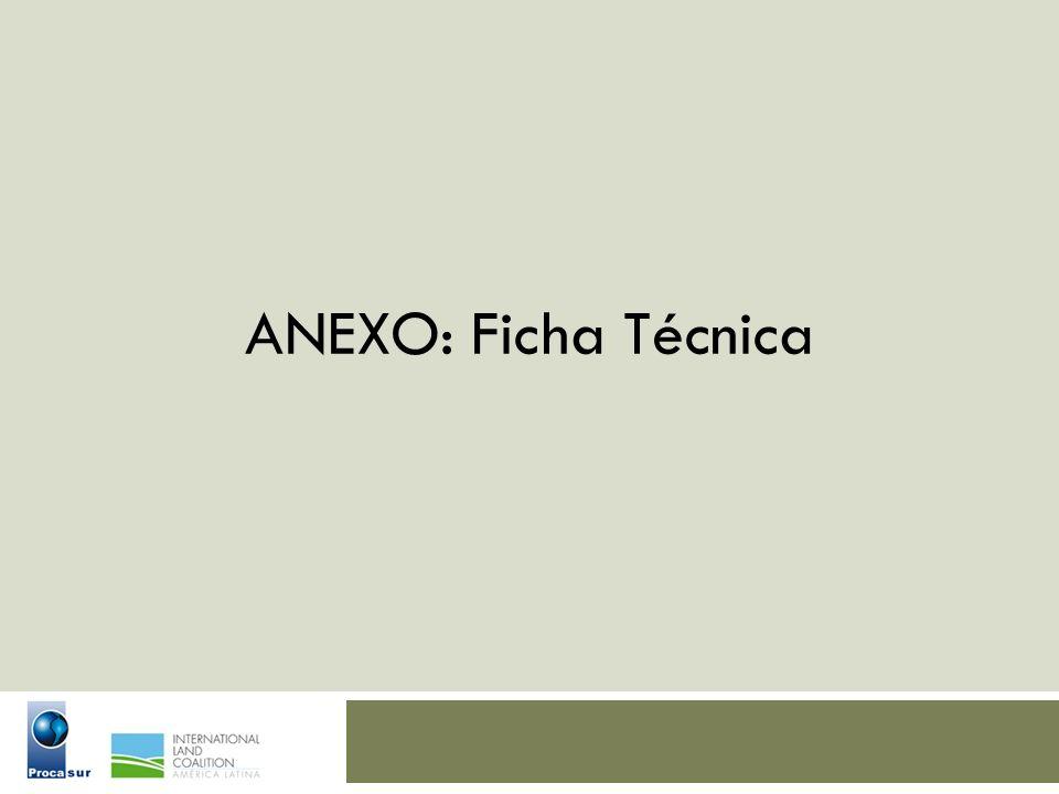 ANEXO: Ficha Técnica