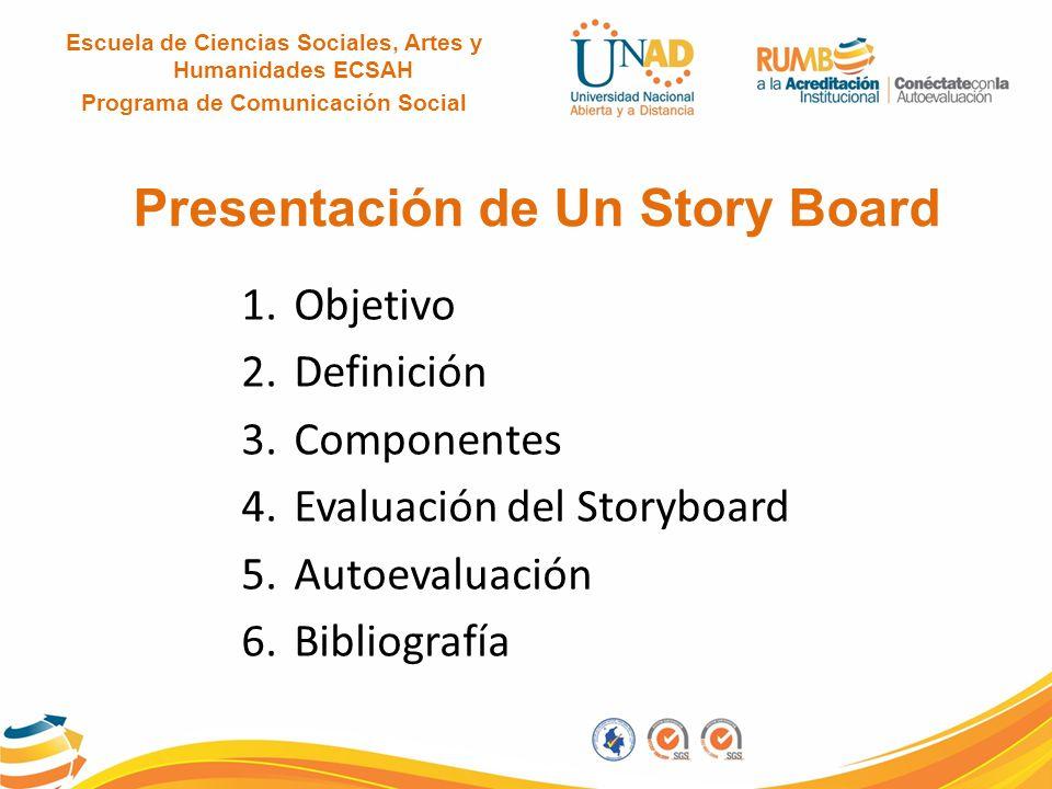Presentación de Un Story Board