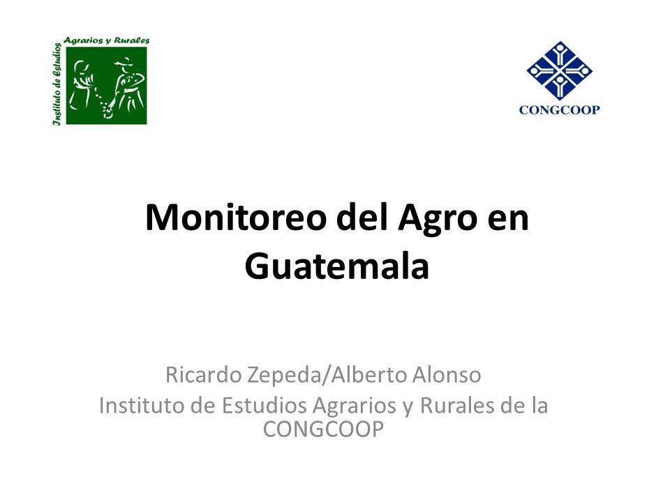 Monitoreo del Agro en Guatemala
