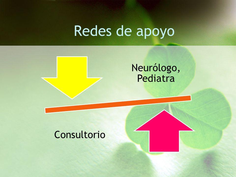 Redes de apoyo Neurólogo, Pediatra Consultorio