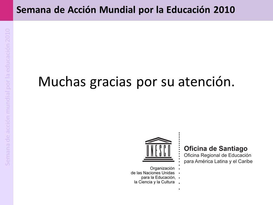 Semana de Acción Mundial por la Educación 2010