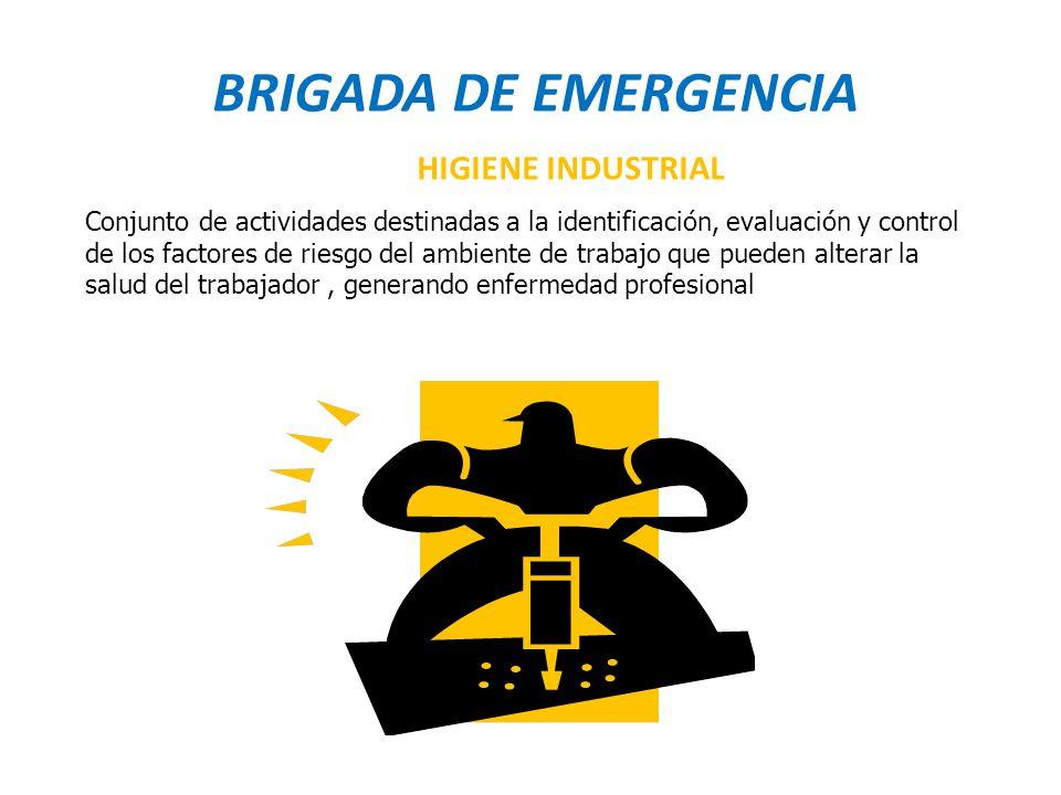 BRIGADA DE EMERGENCIA HIGIENE INDUSTRIAL
