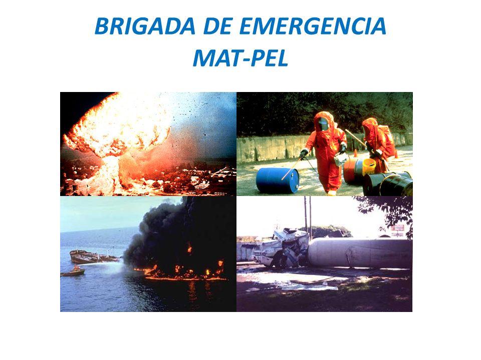 BRIGADA DE EMERGENCIA MAT-PEL