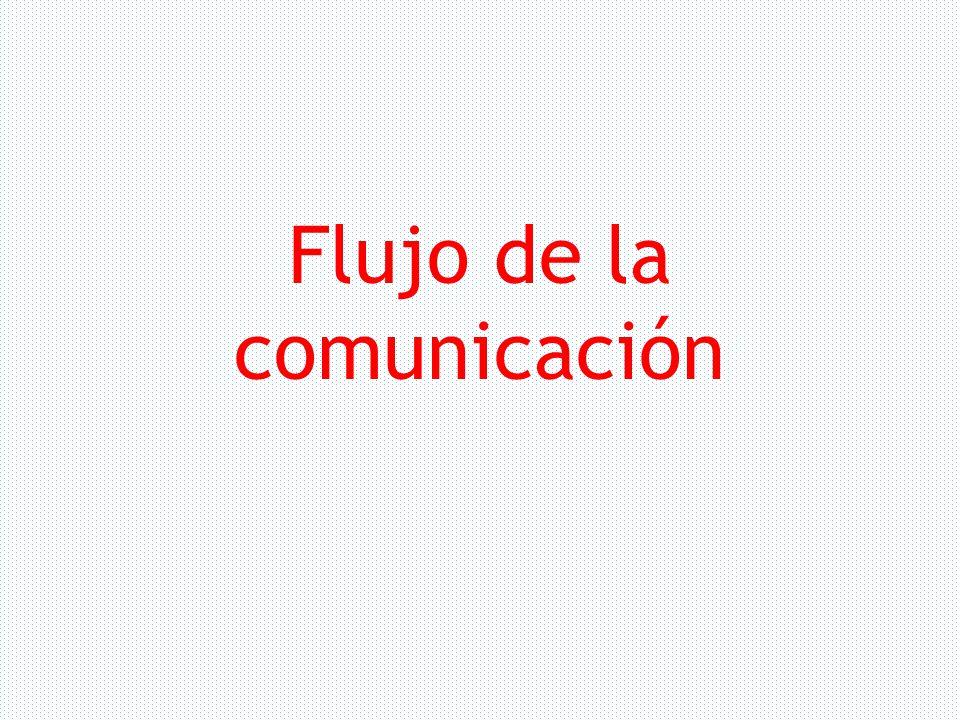 Flujo de la comunicación