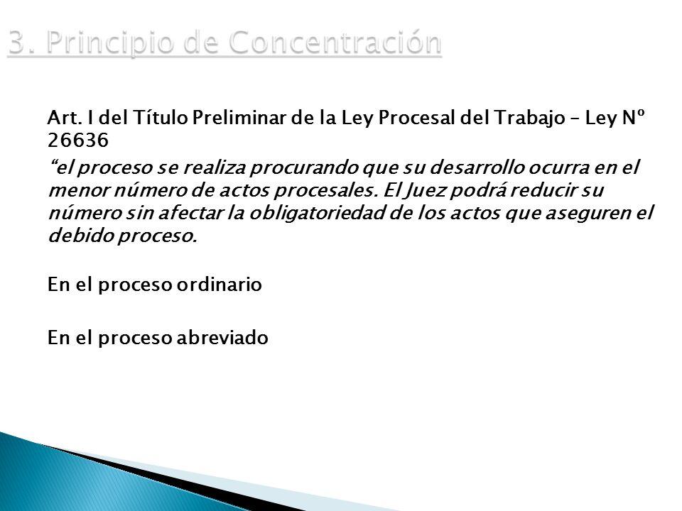 3. Principio de Concentración