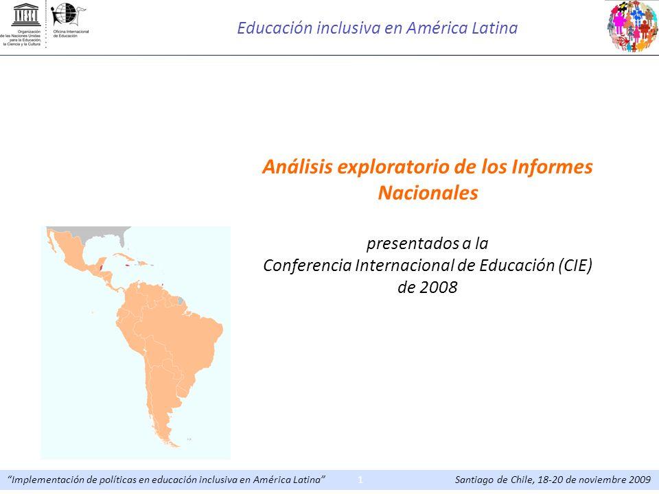 Educación inclusiva en América Latina