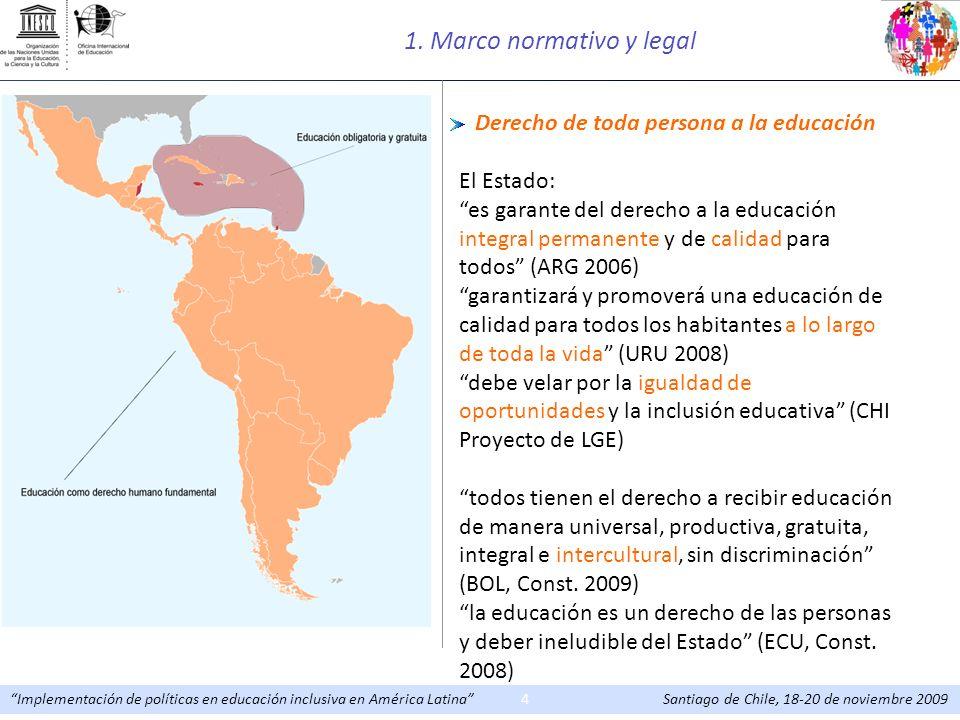 1. Marco normativo y legal