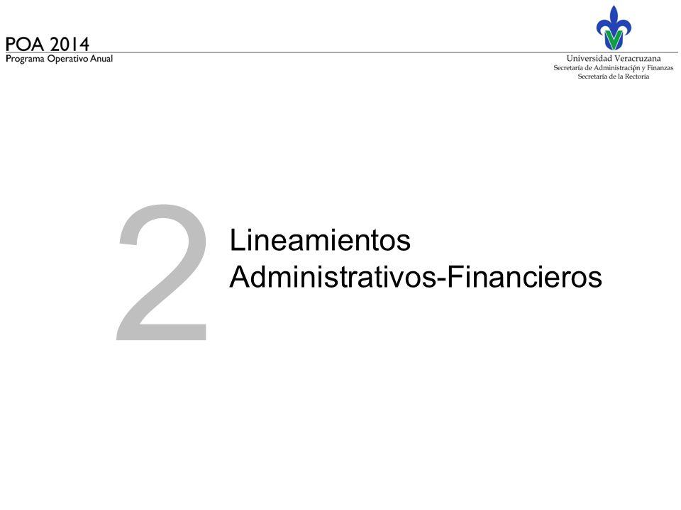 2 Lineamientos Administrativos-Financieros