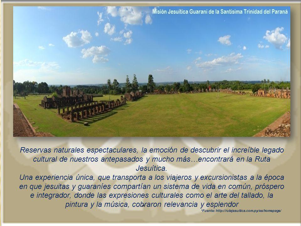 *Fuente: http://rutajesuitica.com.py/es/homepage/