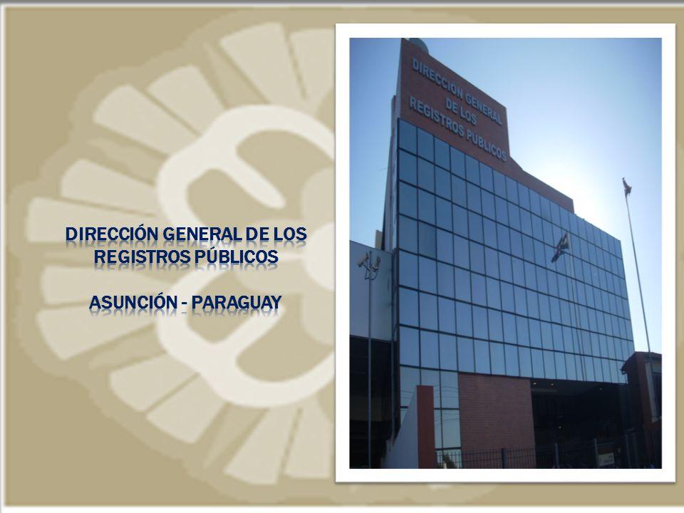 Dirección General de los registros Públicos asunción - paraguay