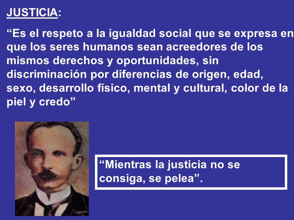 JUSTICIA: