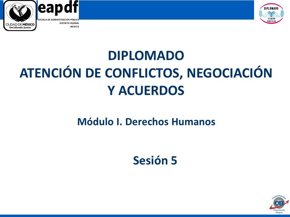 ATENCIÓN DE CONFLICTOS, NEGOCIACIÓN Y ACUERDOS