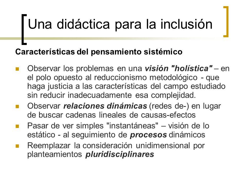 Una didáctica para la inclusión