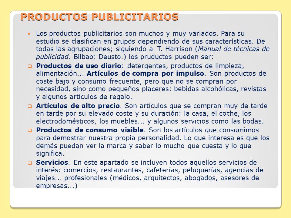 PRODUCTOS PUBLICITARIOS