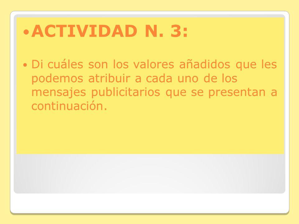 ACTIVIDAD N. 3: