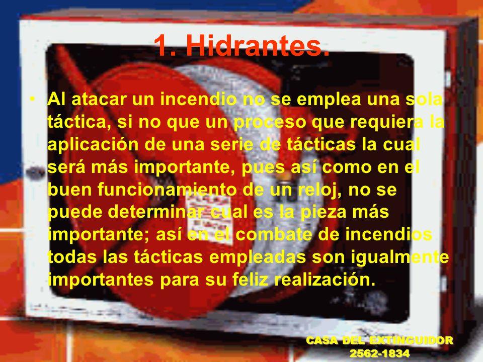 1. Hidrantes.