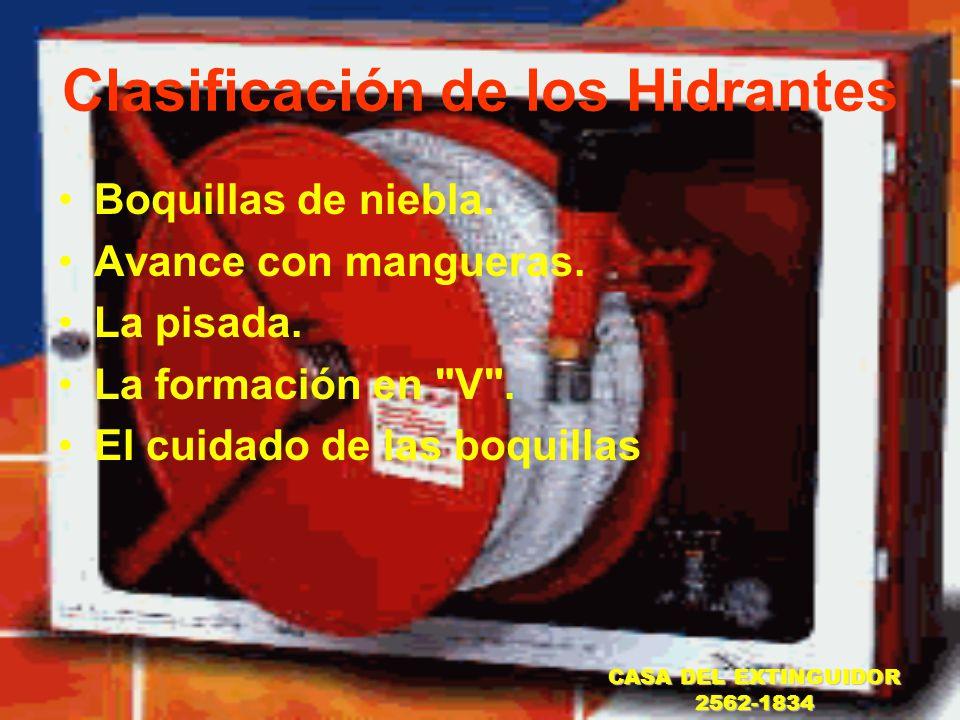 Clasificación de los Hidrantes