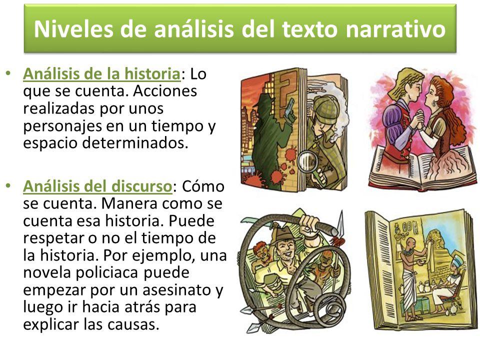 Niveles de análisis del texto narrativo