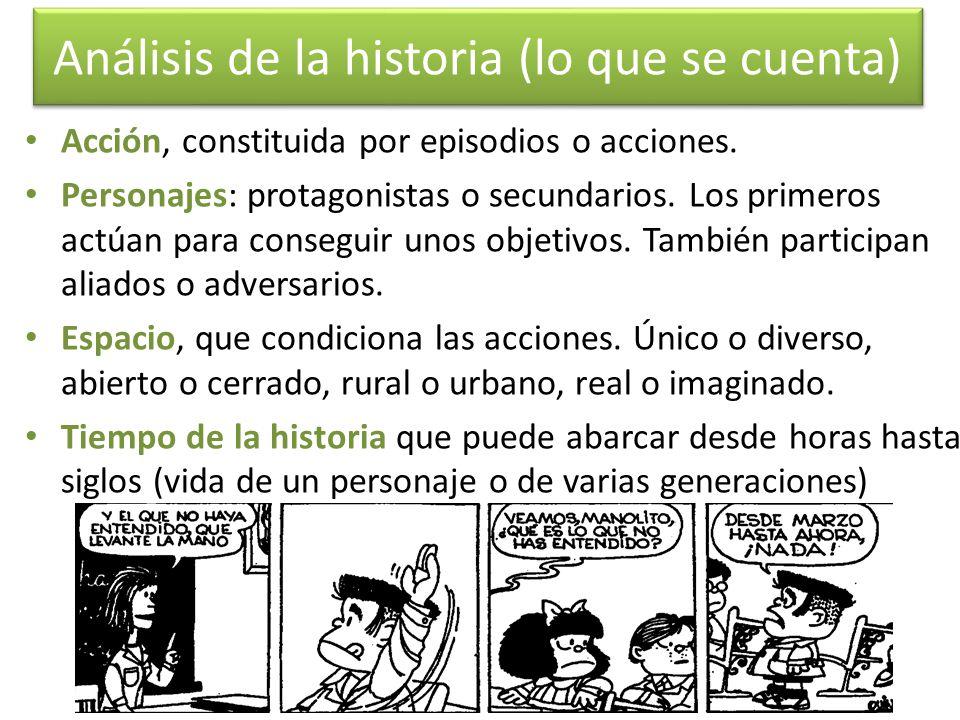 Análisis de la historia (lo que se cuenta)