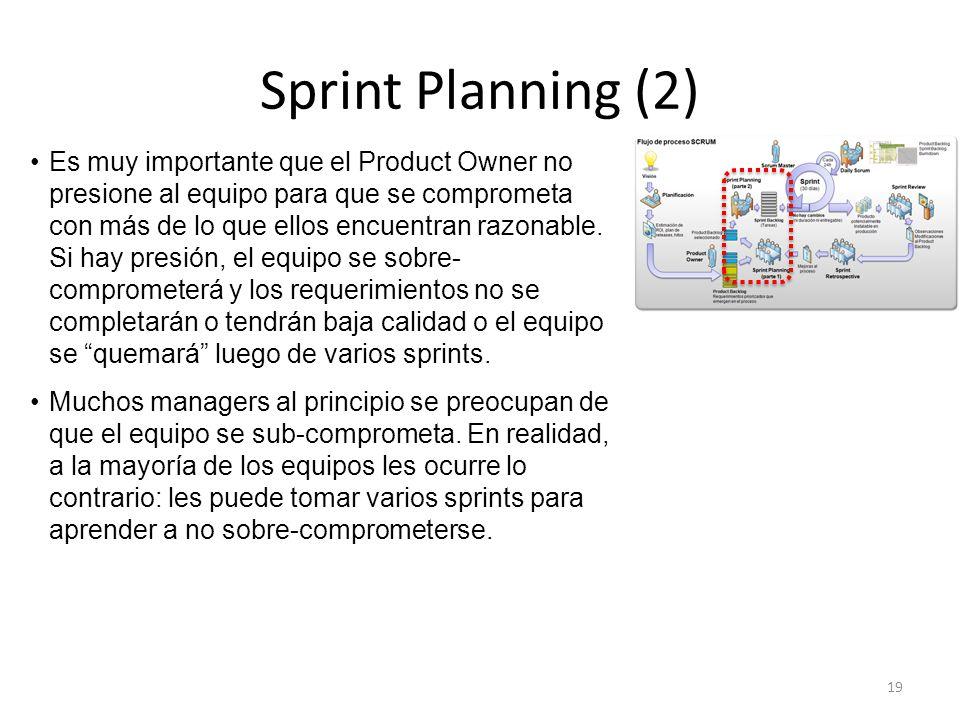 Sprint Planning (2)