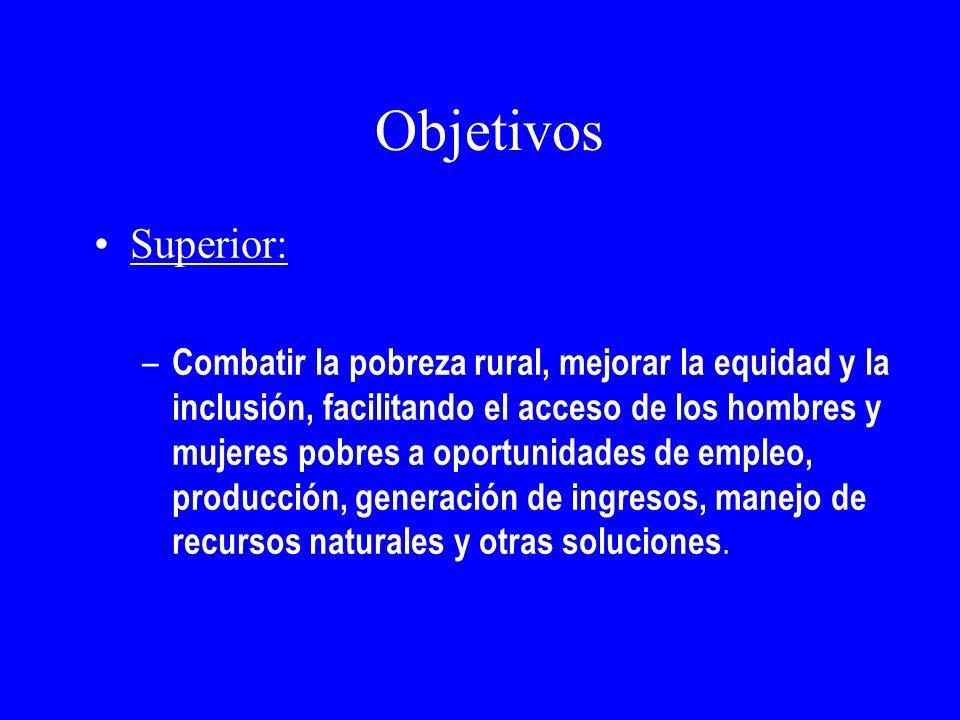 Objetivos Superior: