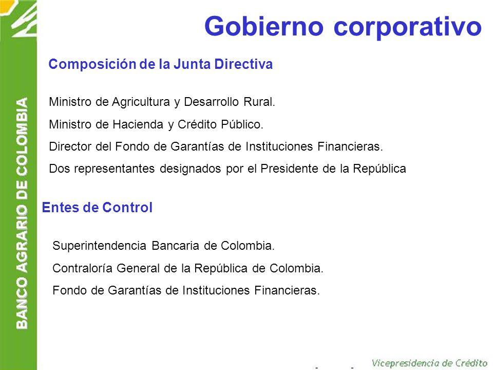 Gobierno corporativo Composición de la Junta Directiva