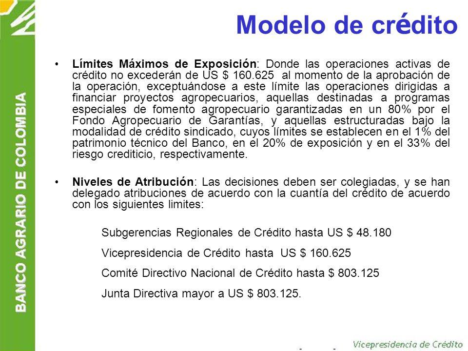 Modelo de crédito
