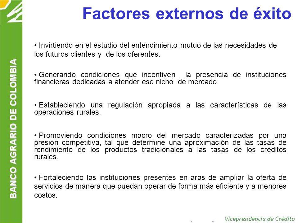 Factores externos de éxito