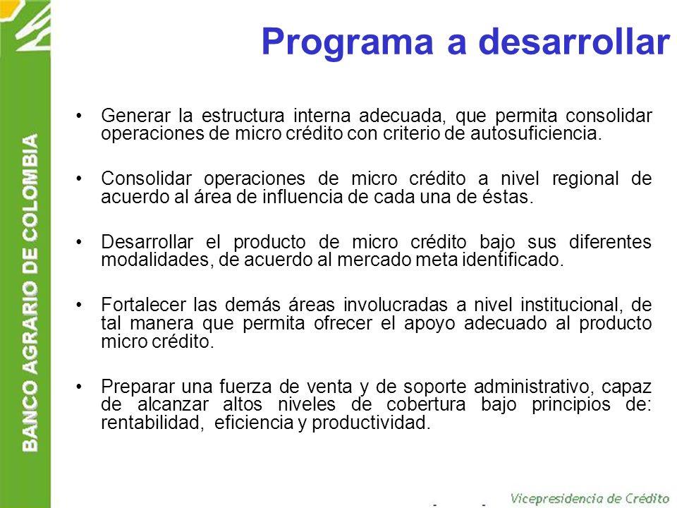 Programa a desarrollar