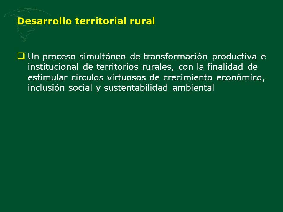 Desarrollo territorial rural
