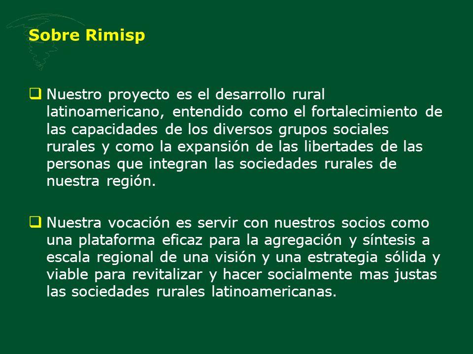 Sobre Rimisp
