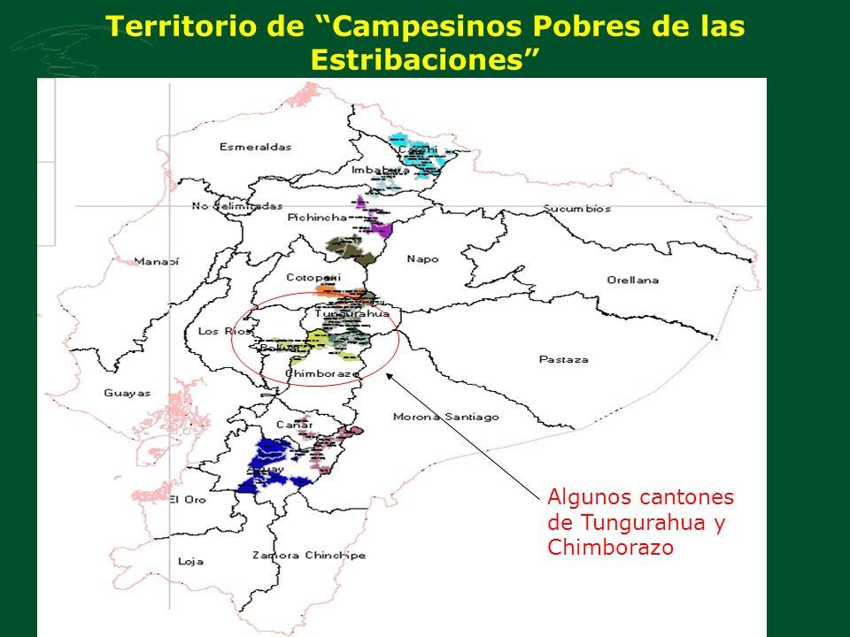 Territorio de Campesinos Pobres de las Estribaciones