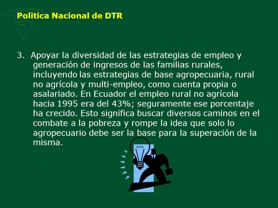 Politica Nacional de DTR