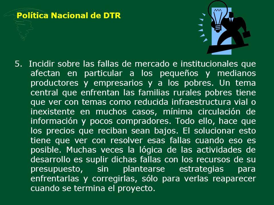 Política Nacional de DTR