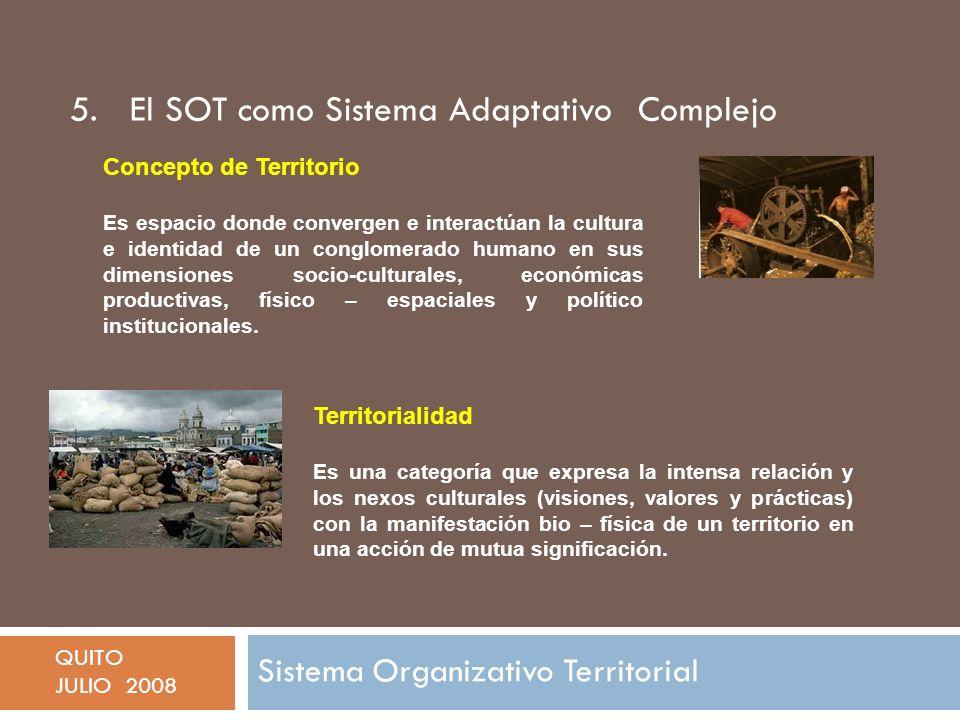 5. El SOT como Sistema Adaptativo Complejo