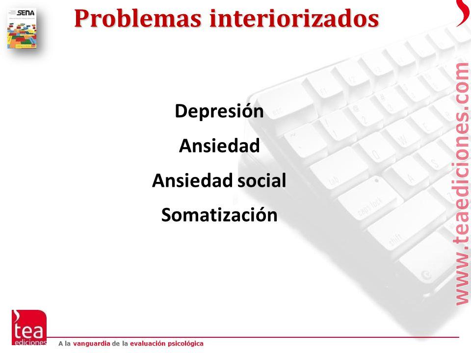 Problemas interiorizados