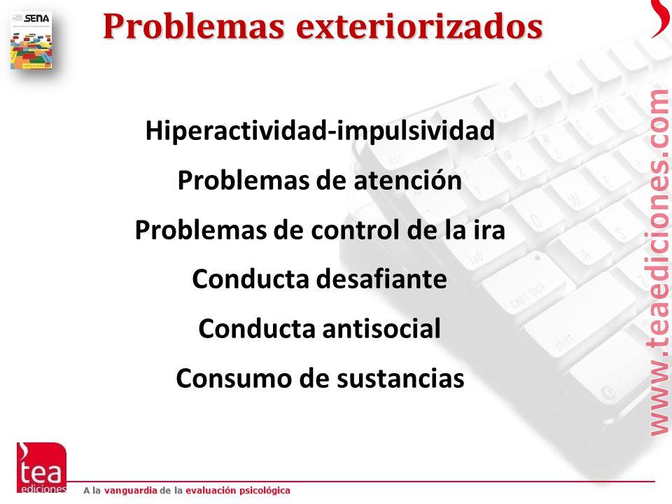 Problemas exteriorizados
