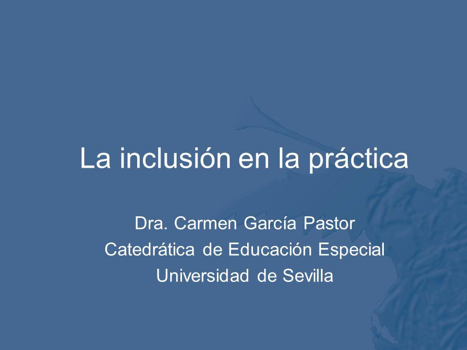 La inclusión en la práctica